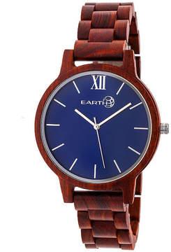 Earth Wood Pike Unisex Red Bracelet Watch-Ethew5203