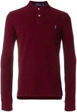 Polo Ralph Lauren long-sleeved logo polo shirt