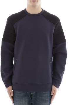 Neil Barrett Blue Viscose Sweater