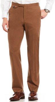 Murano Alex Modern Slim-Fit Flat-Front Flannel Pants