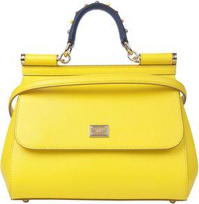 Dolce & Gabbana Sicily Medium Bag - GIALLO - STYLE