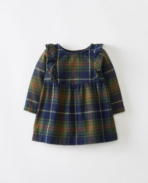 Hanna Andersson Forest Plaid Flannel Dress