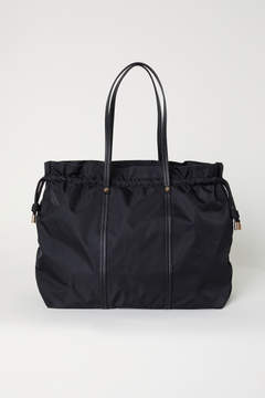H&M Nylon Weekend Bag - Black