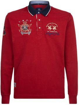 La Martina Squadron Jersey Polo Shirt