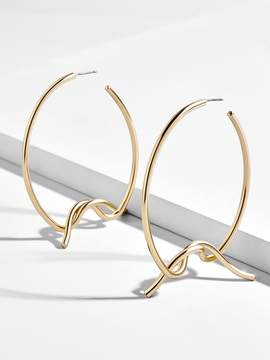 BaubleBar Wren Hoop Earrings