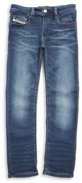 Diesel Toddler's, Little Boy's & Boy's Cotton-Blend Five-Pocket Denim Pants