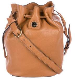 Tory Burch Pebbled Leather Bucket Bag w/ Tags