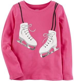 Carter's Girls 4-8 Ice Skates Graphic Tee