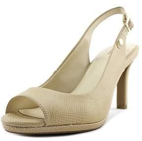 Giani Bernini Womens Blankaa Peep Toe Ankle Strap Classic Pumps.