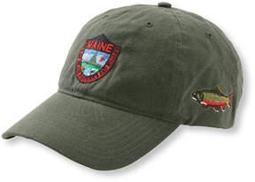 L.L. Bean Men's MIFW Waxcloth Hat, Brook Trout