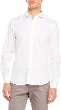 Ganesh Embroidered Cuff Sport Shirt