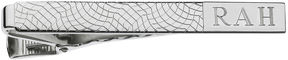 Asstd National Brand Personalized Snakeskin Pattern Tie Bar