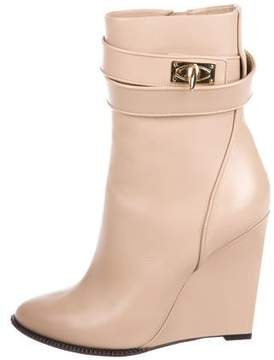 Givenchy Leather Mid-Calf Boots