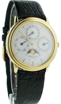 Audemars Piguet Quantieme Perpetual Calendar 18K Yellow Gold 36mm Watch