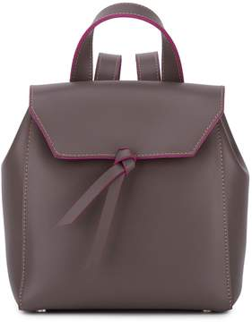 Alexandra de Curtis Hepburn Mini Backpack Taupe