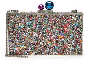 Sophia Webster Clara Crystal Embellished Box Bag