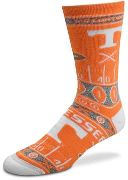 For Bare Feet Adult Tennessee Volunteers Super Fan Crew Socks