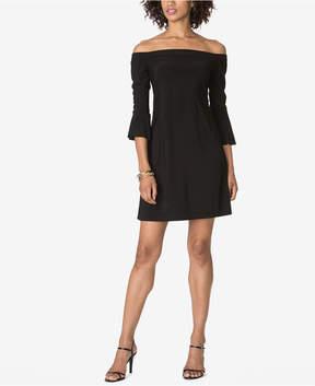American Living Off-The-Shoulder Bell-Sleeve Dress