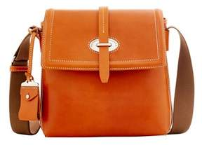 Dooney & Bourke Florentine Toscana Small Messenger Bag. - NATURAL - STYLE
