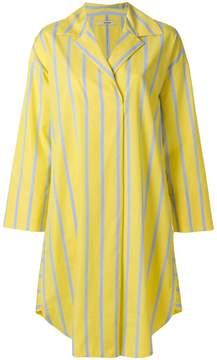 Odeeh striped poplin dress