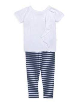Splendid Baby's, Toddler's& Little Girl's Striped Leggings Set