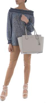 Michael Kors Mercer Large Tote - CEMENTO - STYLE