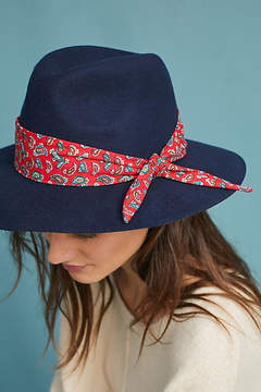 Anthropologie Paisley-Trimmed Rancher