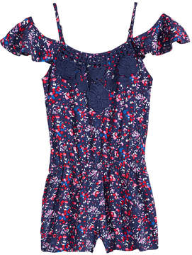 Epic Threads Floral-Print Romper, Big Girls, Created for Macy's