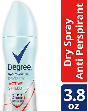 Degree Women Women Antiperspirant Deodorant Dry Spray Active Shield