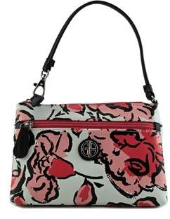 Giani Bernini Floral All-in-one Wristlet Faux Leather Wristlet.