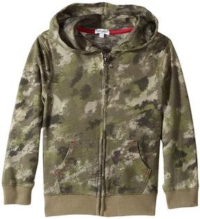 Splendid Littles Camo Hoodie Zip-Up Jacket (Little Kids/Big Kids)