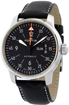 Fortis Cockpit Two Automatic Black Dial Men's Watch