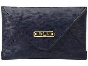 Lauren Ralph Lauren Newbury Envelope Card Case Wallet