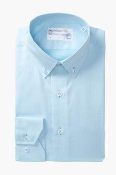 Lorenzo Uomo Dots Trim Fit Dress Shirt