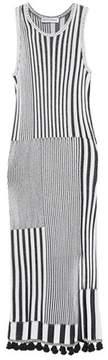 Altuzarra Lutetia striped knit midi dress