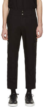 Dolce & Gabbana Black Logo Cargo Pants