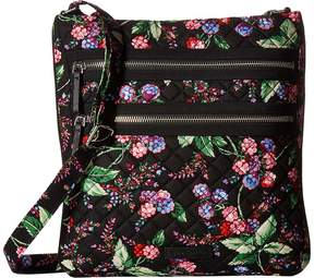 Vera Bradley Iconic Triple Zip Hipster Handbags - AUTUMN LEAVES - STYLE