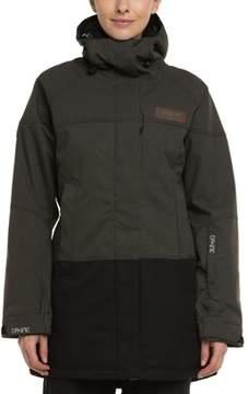 Dakine Women's Sidney Grey & Black Hooded Jacket.