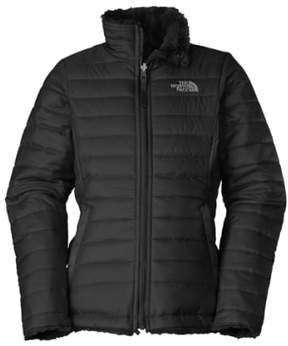 The North Face Girl's 'Mossbud Swirl' Reversible Water Repellent Jacket