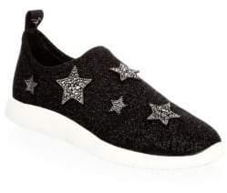 Giuseppe Zanotti Embellished Slip-On Sneakers
