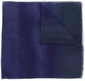 Lanvin faded raw edge scarf