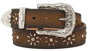 Ariat A1518002-XL 1.5 in. Womens Laced Starburst Belt, Brown - Extra Large