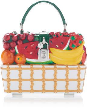 Dolce & Gabbana Fruit-Embellished Tote