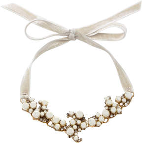 Erickson Beamon Dancing Queen 24K Gold-Plated Crystal And Pearl Necklace