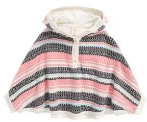 Tucker + Tate Infant Girl's Fair Isle Sweater Poncho