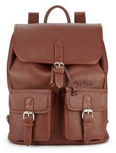 Robert Graham Textured Leather Backpack