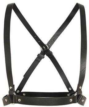 Topshop Women's Cross Back Faux Leather Harness