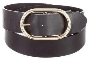 Frame Leather Waist Belt