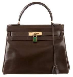 Hermes Vintage Box Kelly 28