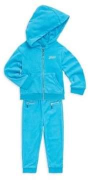 Juicy Couture Little Girl's Two-Piece Hoodie & Pants Choose Juicy Set